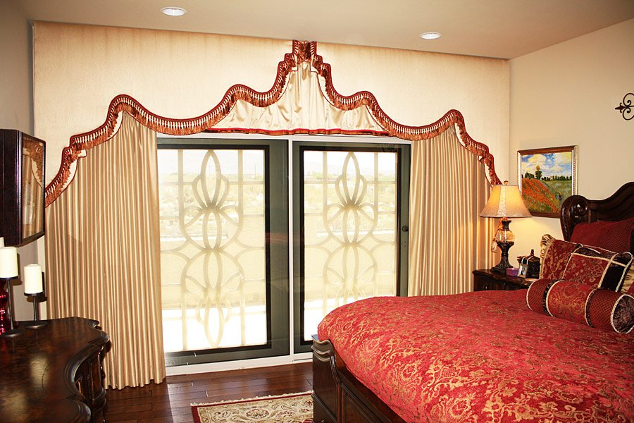 Surprise Upholstered Cornices Window Treatments In