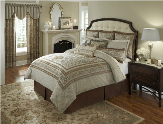 Surprise counties heirloom bedding