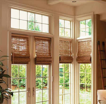 Surprise Woven Wood Shades